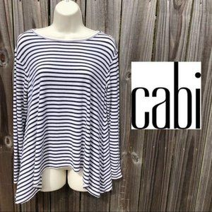 Cabi Striped Blouse S